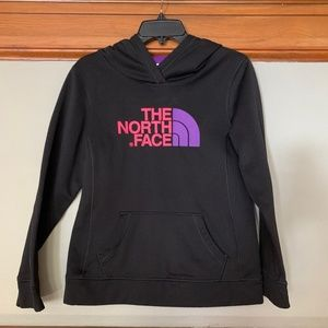 The North Face Poly exterior Fleece lined hoodie